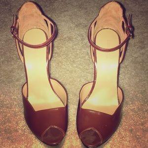 Zara High Heel Wedge Sandal